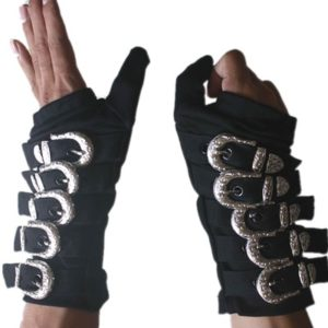 Black Bad Armbraces